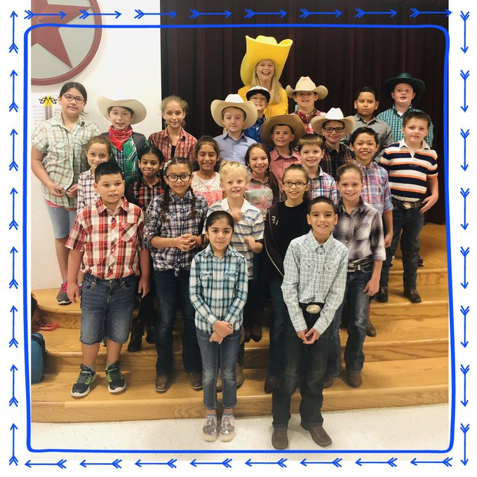 It's Cowboy Day at Magee