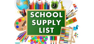 West Intermediate School Supply List