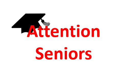 Attention Seniors (Class of 2020)