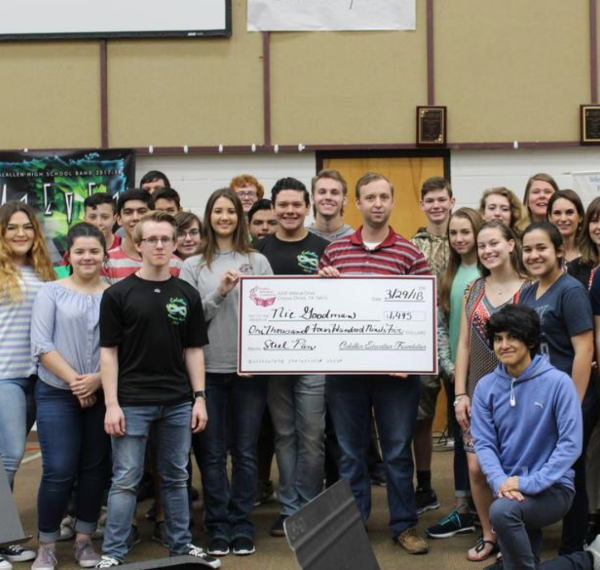 CHS Band receives CEF Grant