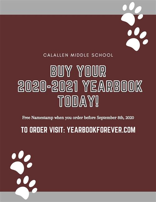20-21 CMS Yearbook Information