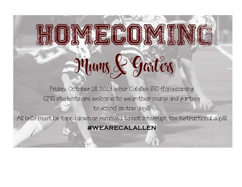 Homecoming Mums & Garters