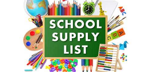 19-20 CMS School Supply List